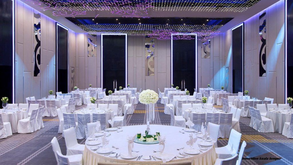 hotel ballroom for wedding