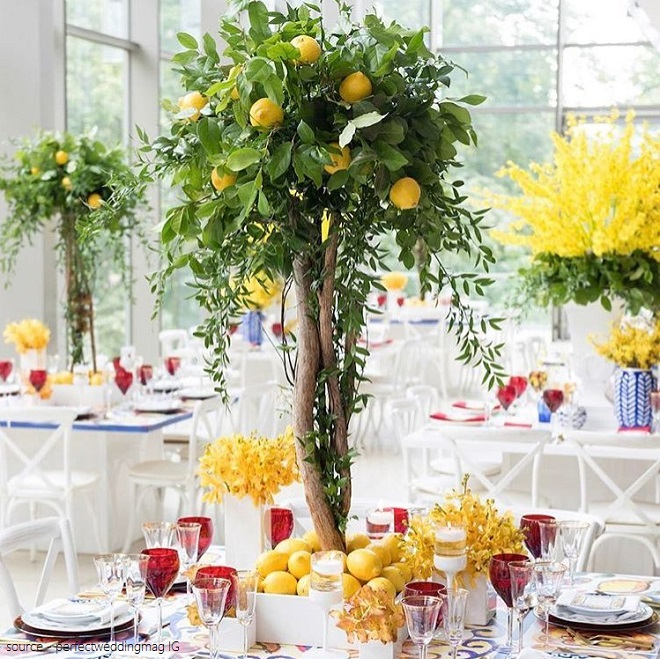 decor with centrepiece