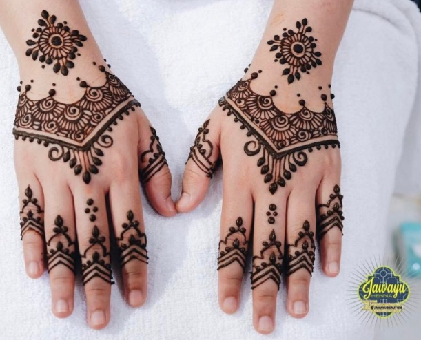 malay wedding henna