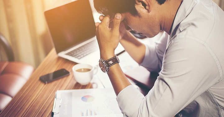 stress over financial problems