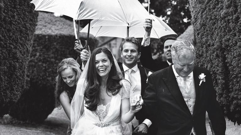 11 Reasons You Want Rain on Your Wedding Day (Seriously!)